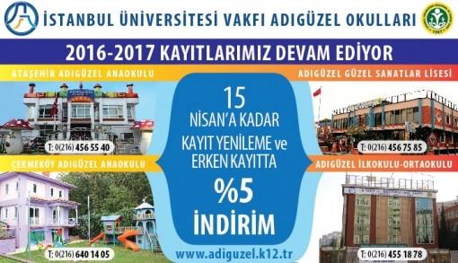 Adıgüzel Eğitim Kurumları Çekmeköy Anaokulu