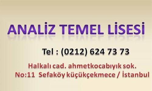 ÖZEL MUSTAFA ORTA ANALİZ TEMEL LİSESİ