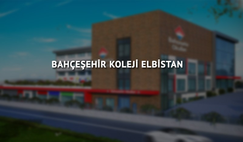 Bahçeşehir Koleji Elbistan Anaokulu